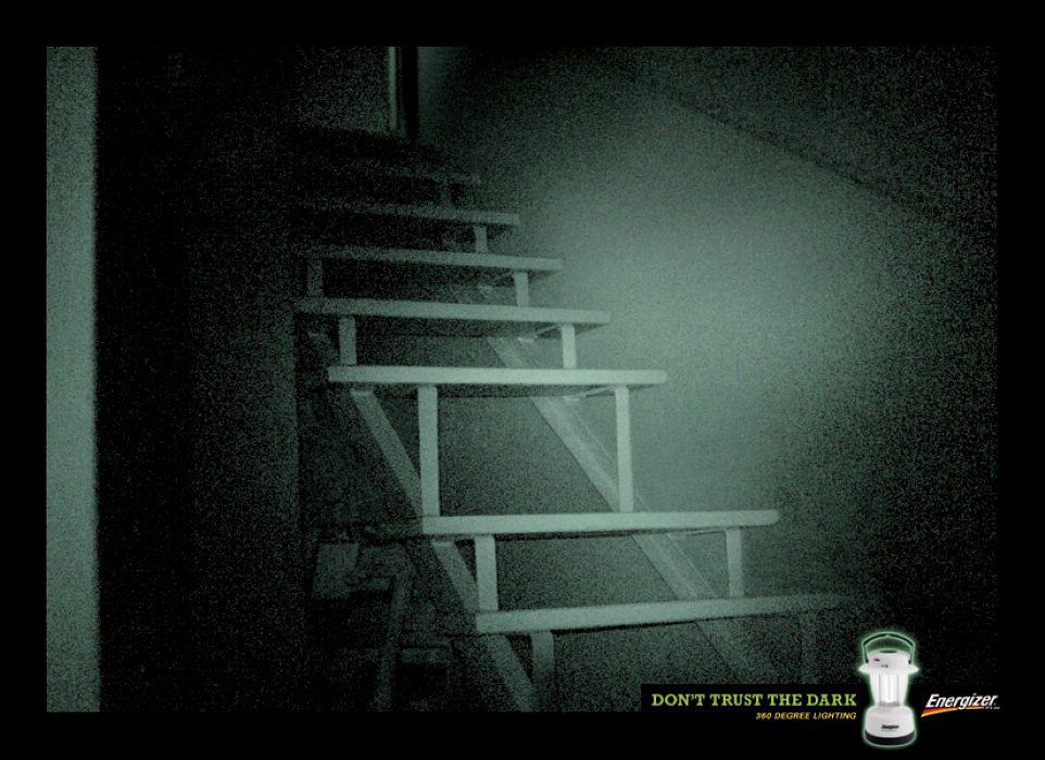 Energizer Print Ad -  Stairs