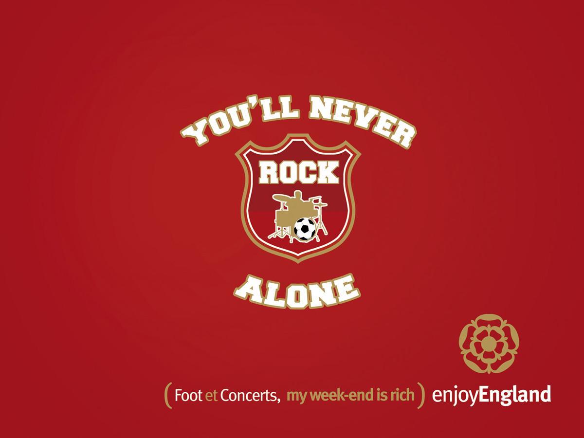 Enjoy England Print Ad -  Never