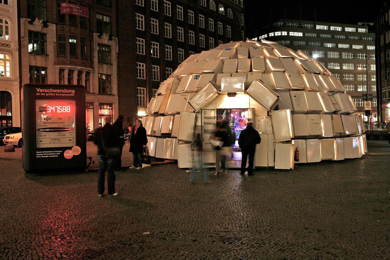 Entega Ambient Ad -  Igloo