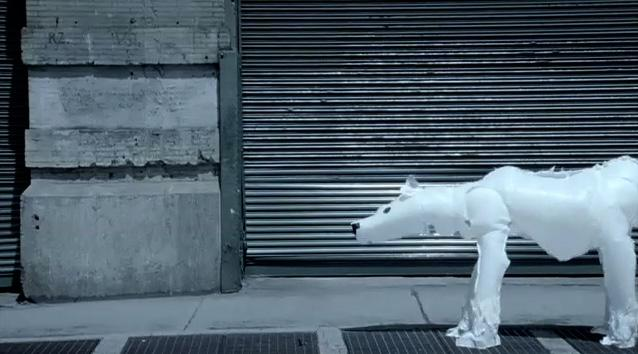 Environmental Defense Fund Ambient Ad -  Polar Bears