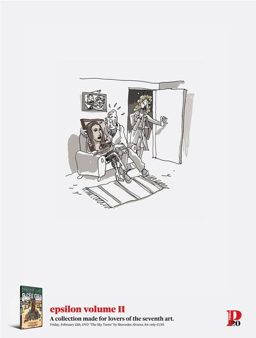 Público Print Ad -  The Sky Turns