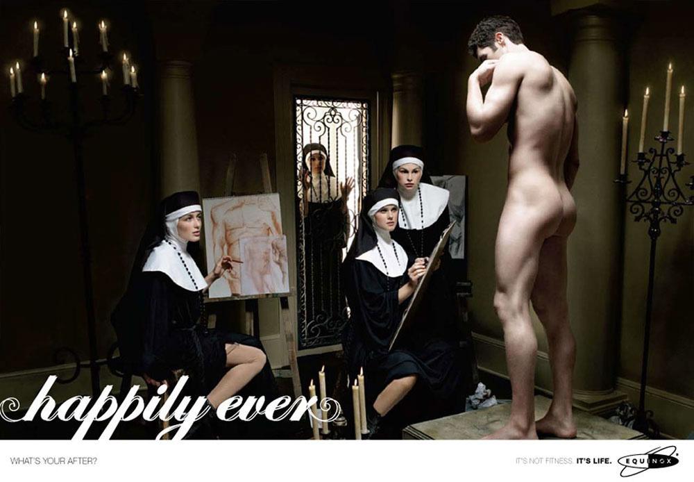 Equinox Print Ad -  Nuns
