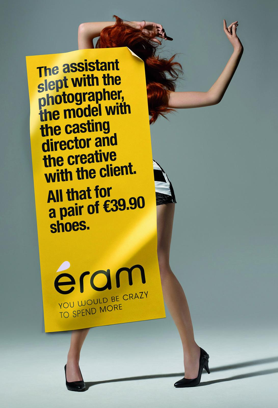 Eram Print Ad -  Shooting, Sex affair