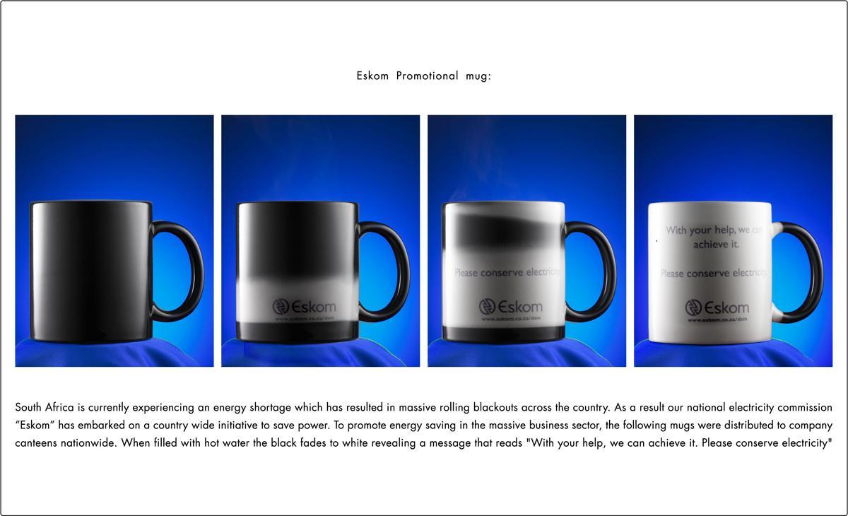 Eskom Ambient Ad -  Mug