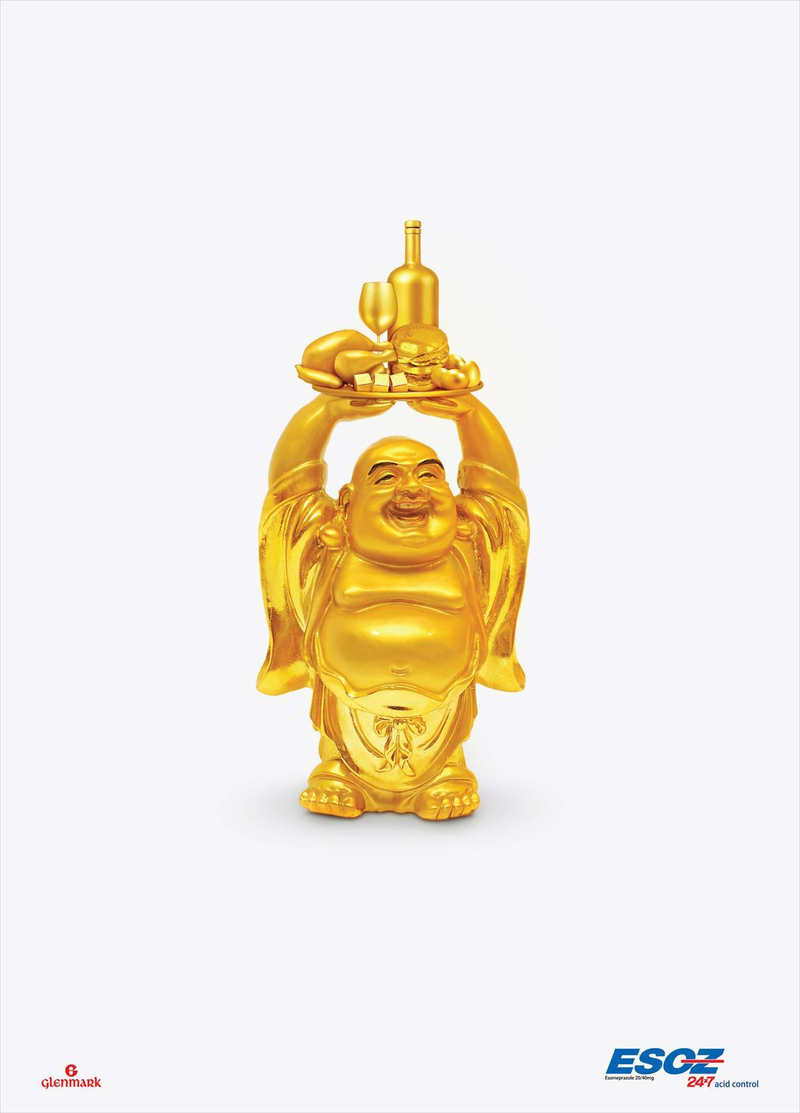 Esoz Print Ad -  Laughing Buddha