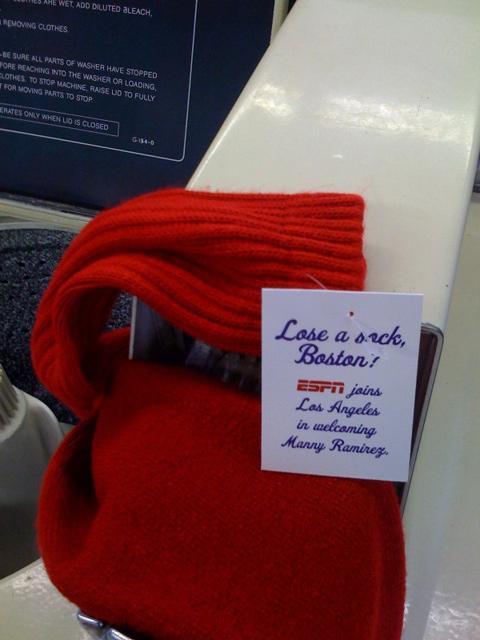 ESPN Ambient Ad -  Sock