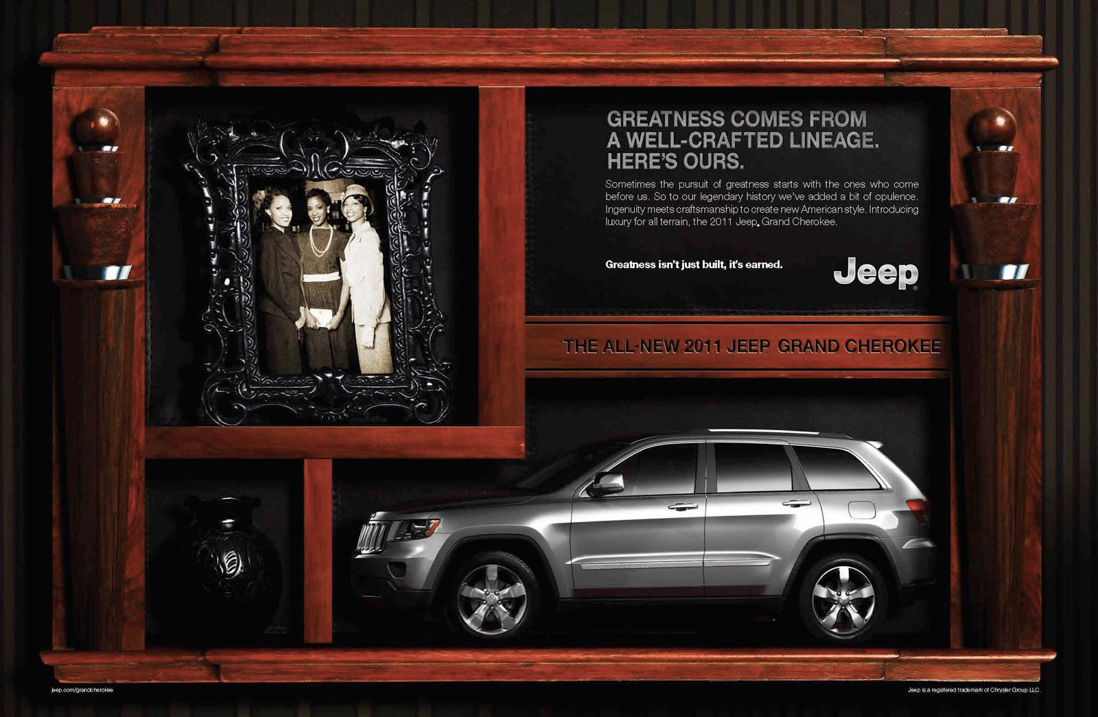 Jeep Print Ad -  Greatness, 2