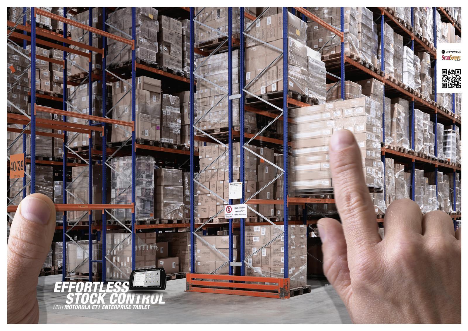Motorola Print Ad -  Warehouse