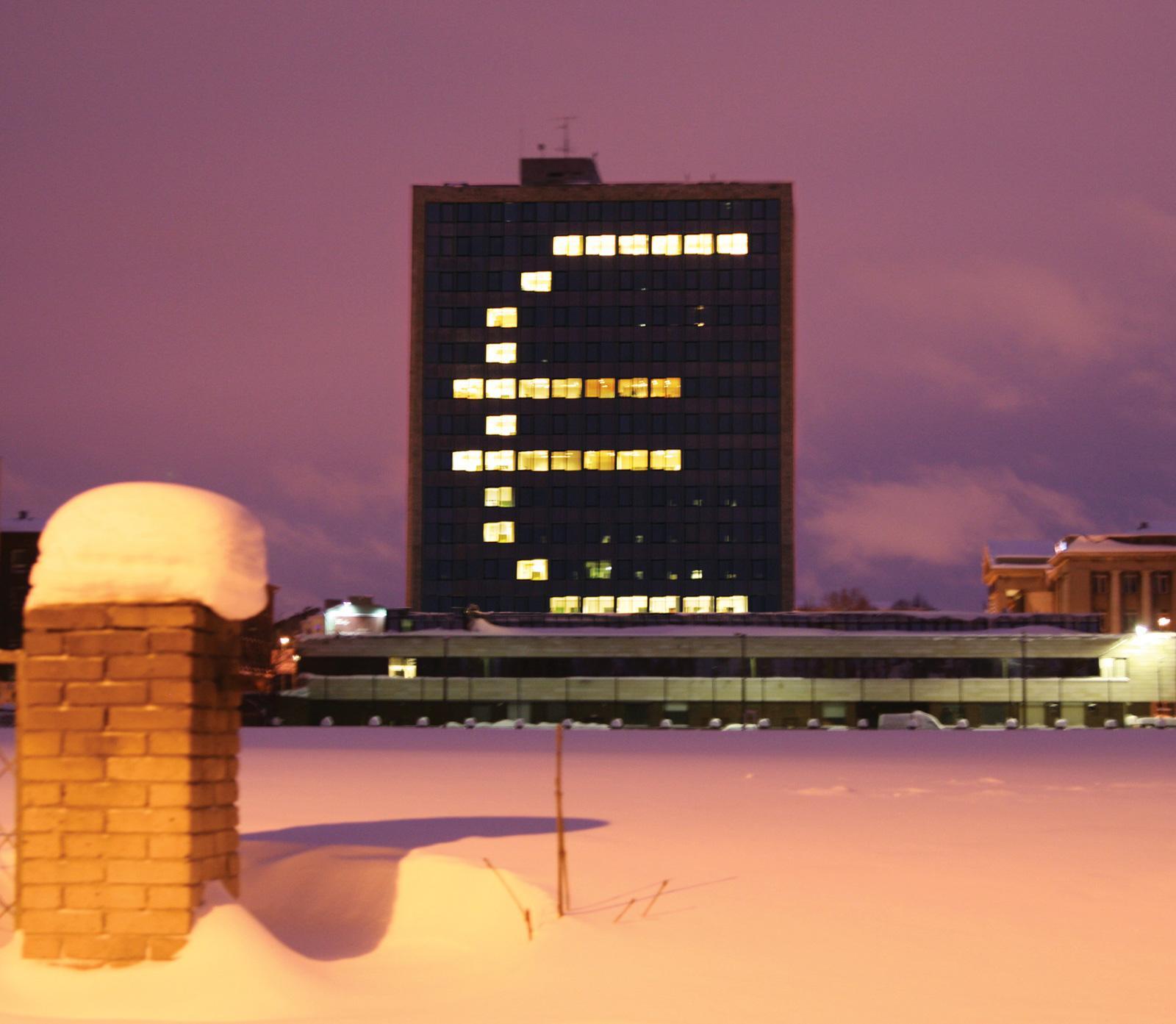 Republic of Estonia Ambient Ad -  The Euro