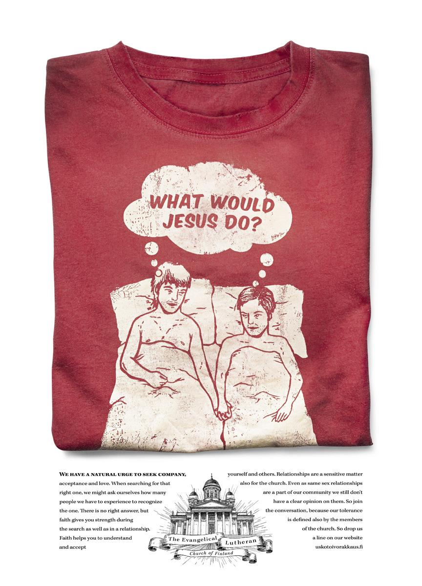 The Evangelical Lutheran Church of Finland Print Ad -  What