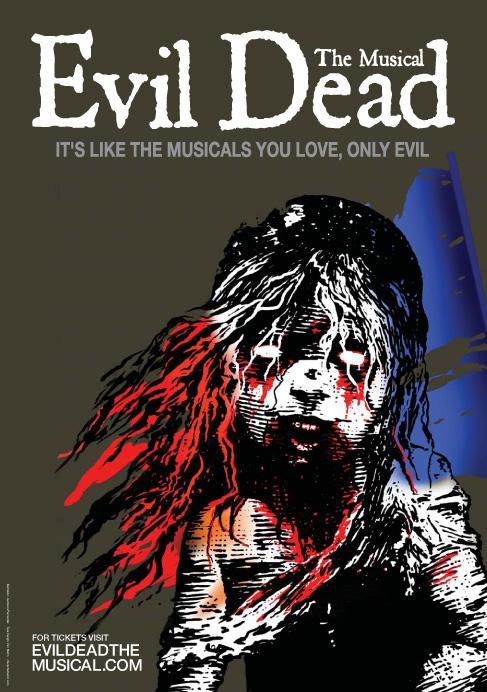 Evil Dead Print Ad -  Les Miserables