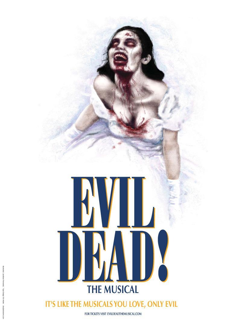 Evil Dead Print Ad -  Mamma Mia