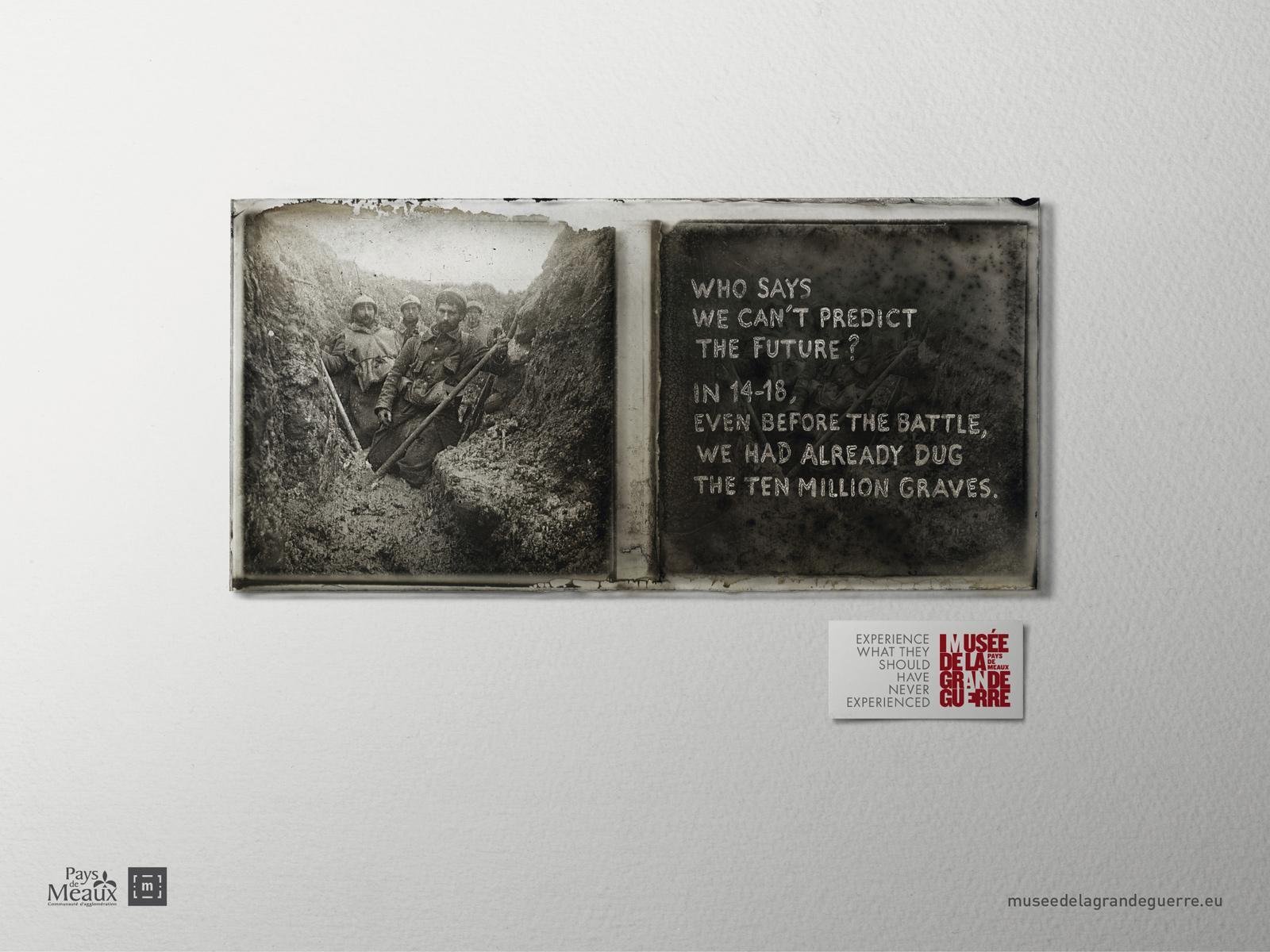 Musée de la Grande Guerre Print Ad -  Experience, 1