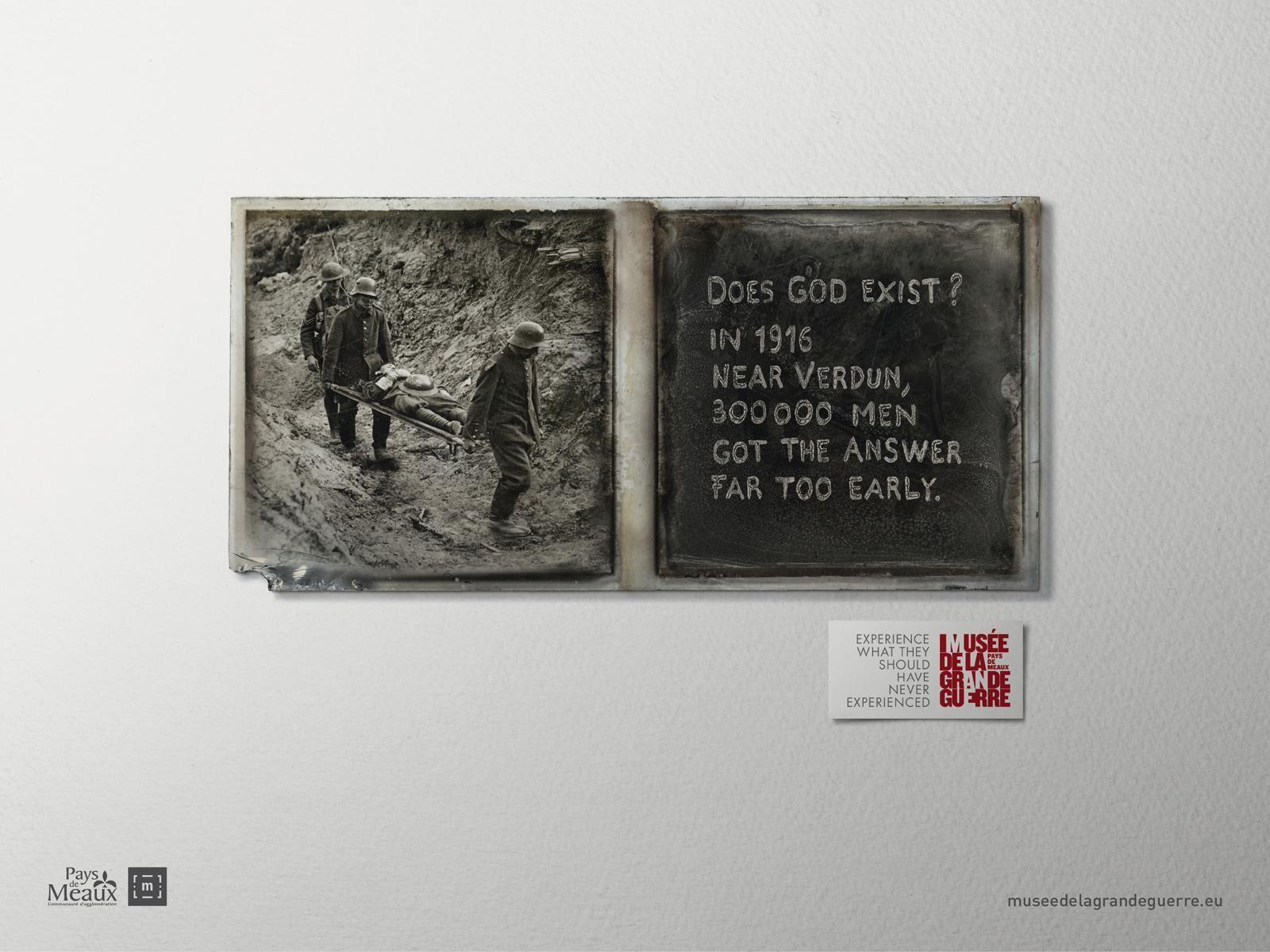 Musée de la Grande Guerre Print Ad -  Experience, 2