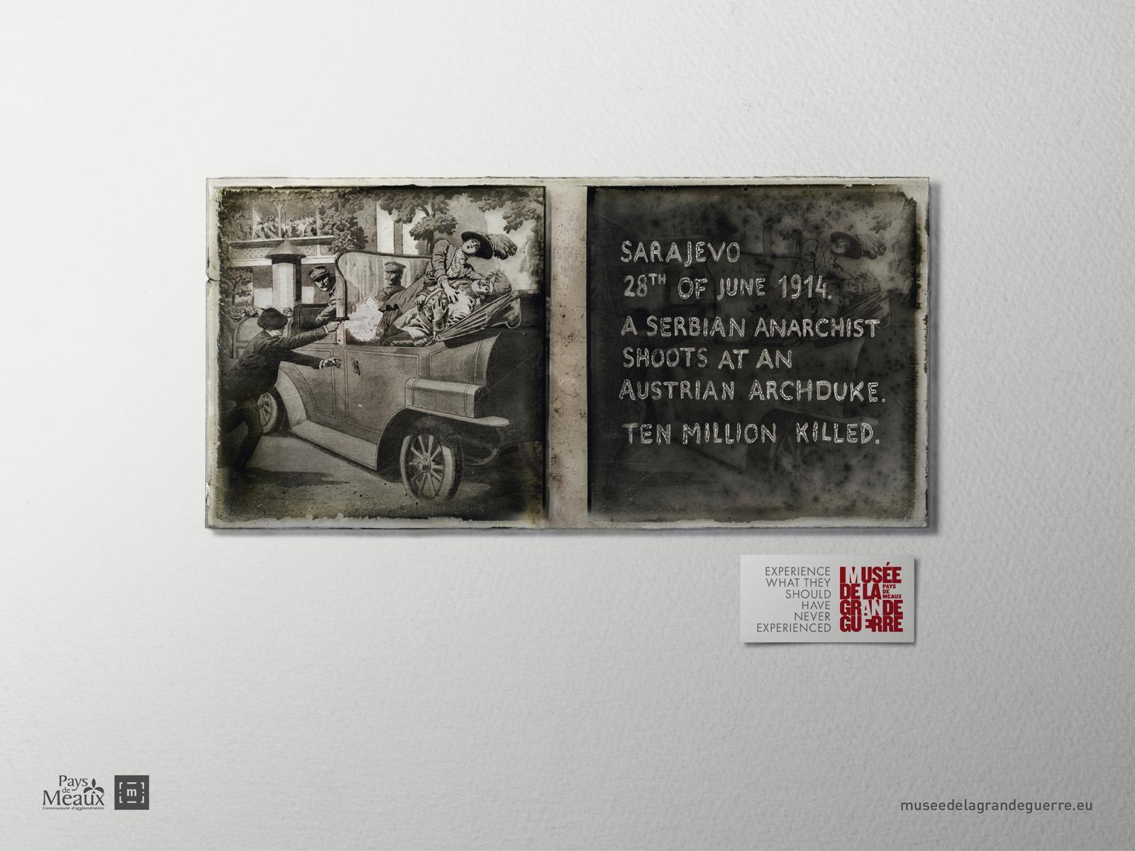 Musée de la Grande Guerre Print Ad -  Experience, 5