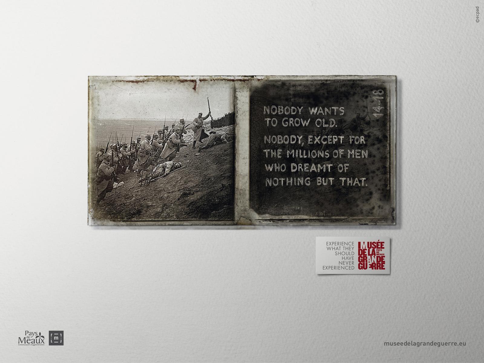 Musée de la Grande Guerre Print Ad -  Experience, 7
