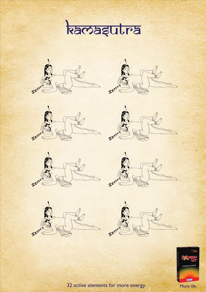 Extrem Vit Print Ad -  Kamasutra