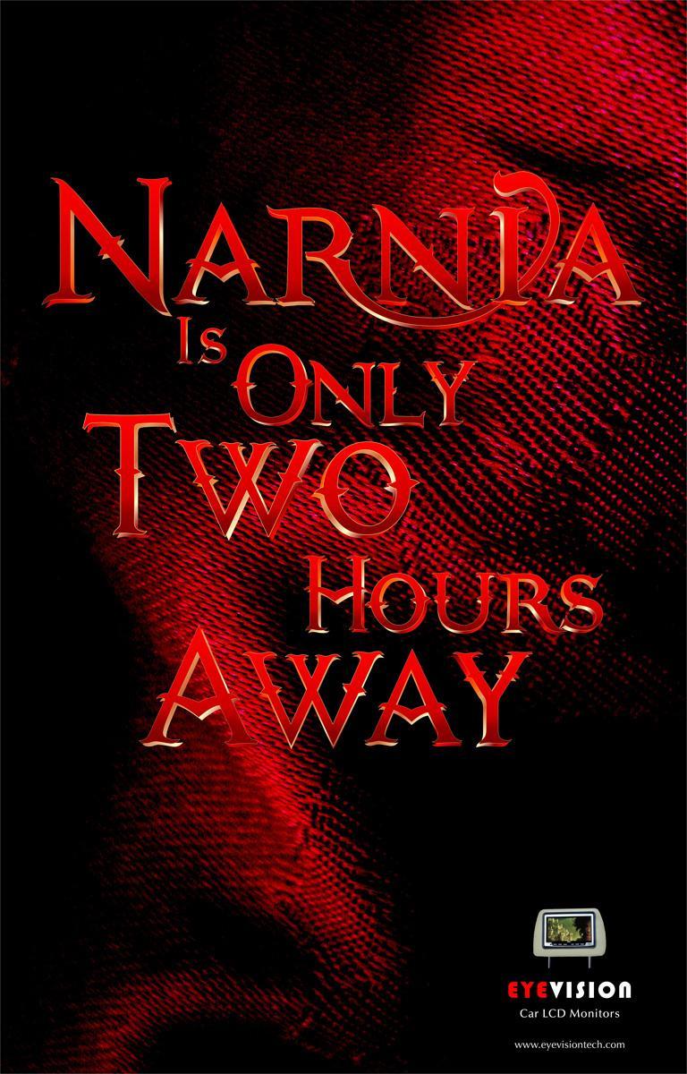 Eyevision Print Ad -  Narnia
