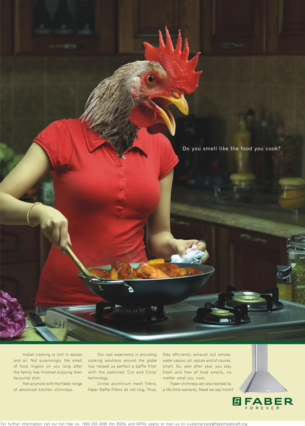 Faber Print Ad -  Smell, 3