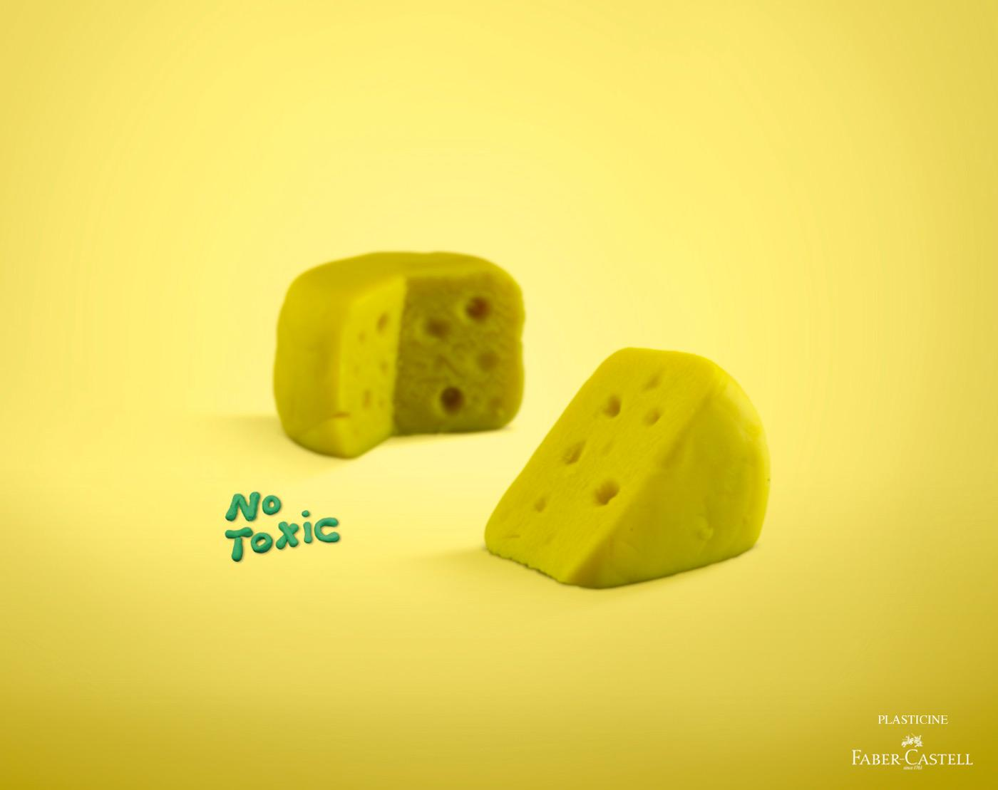 Faber-Castell Print Ad -  Cheese