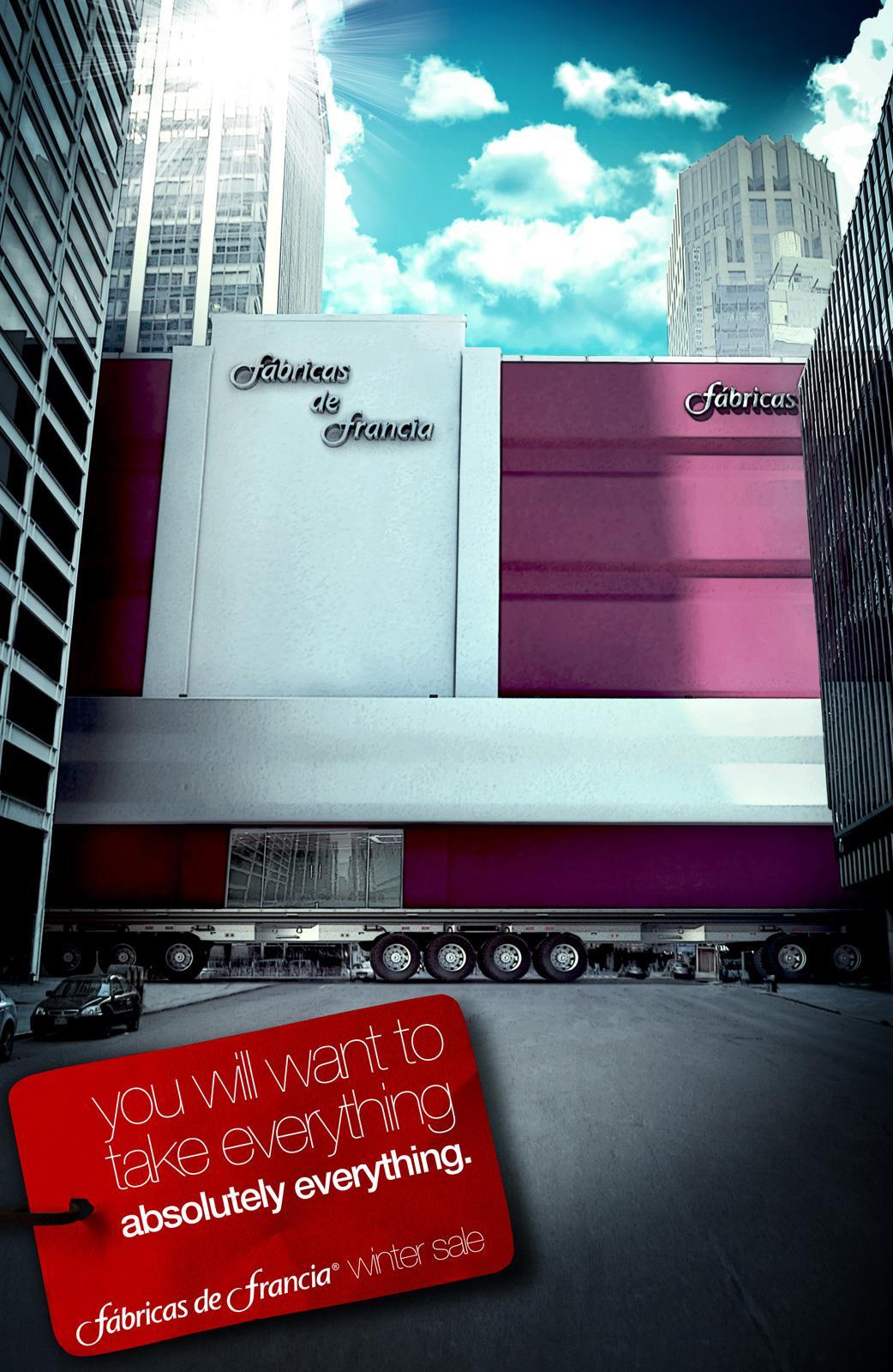 Fabricas de Francia Print Ad -  Everything, 4