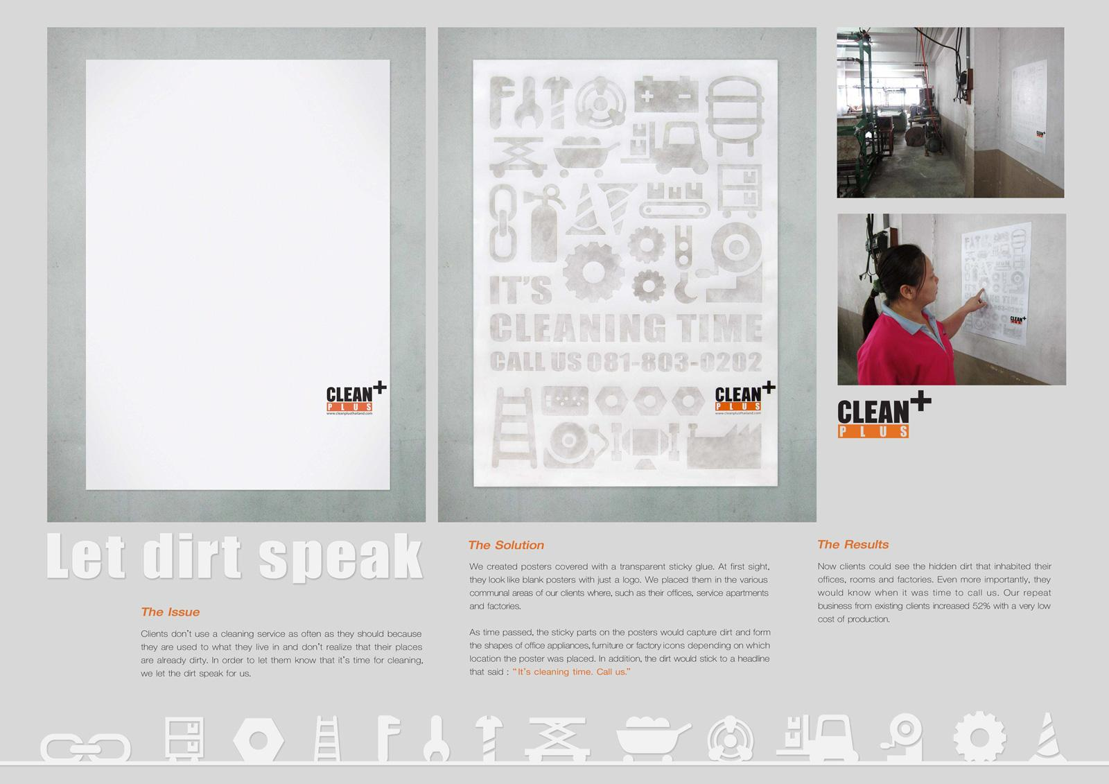 Clean Plus Outdoor Ad -  Factory