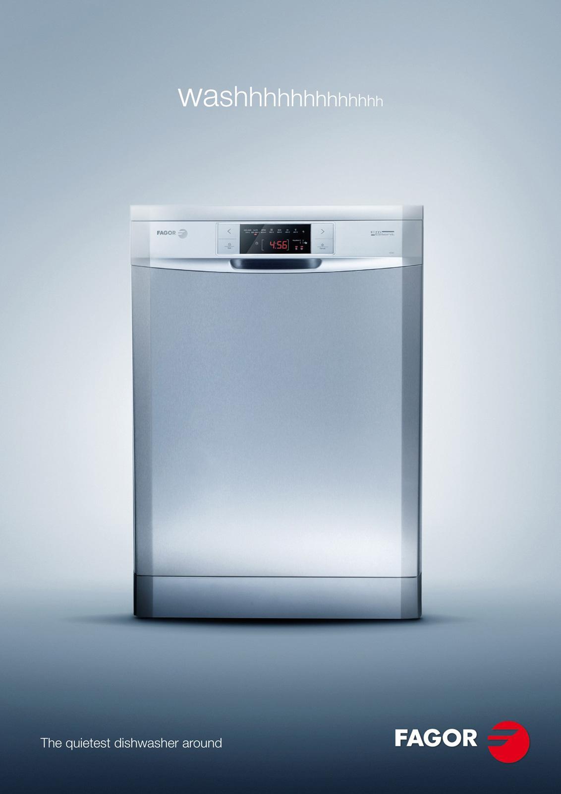 Fagor Print Ad -  Dishwasher