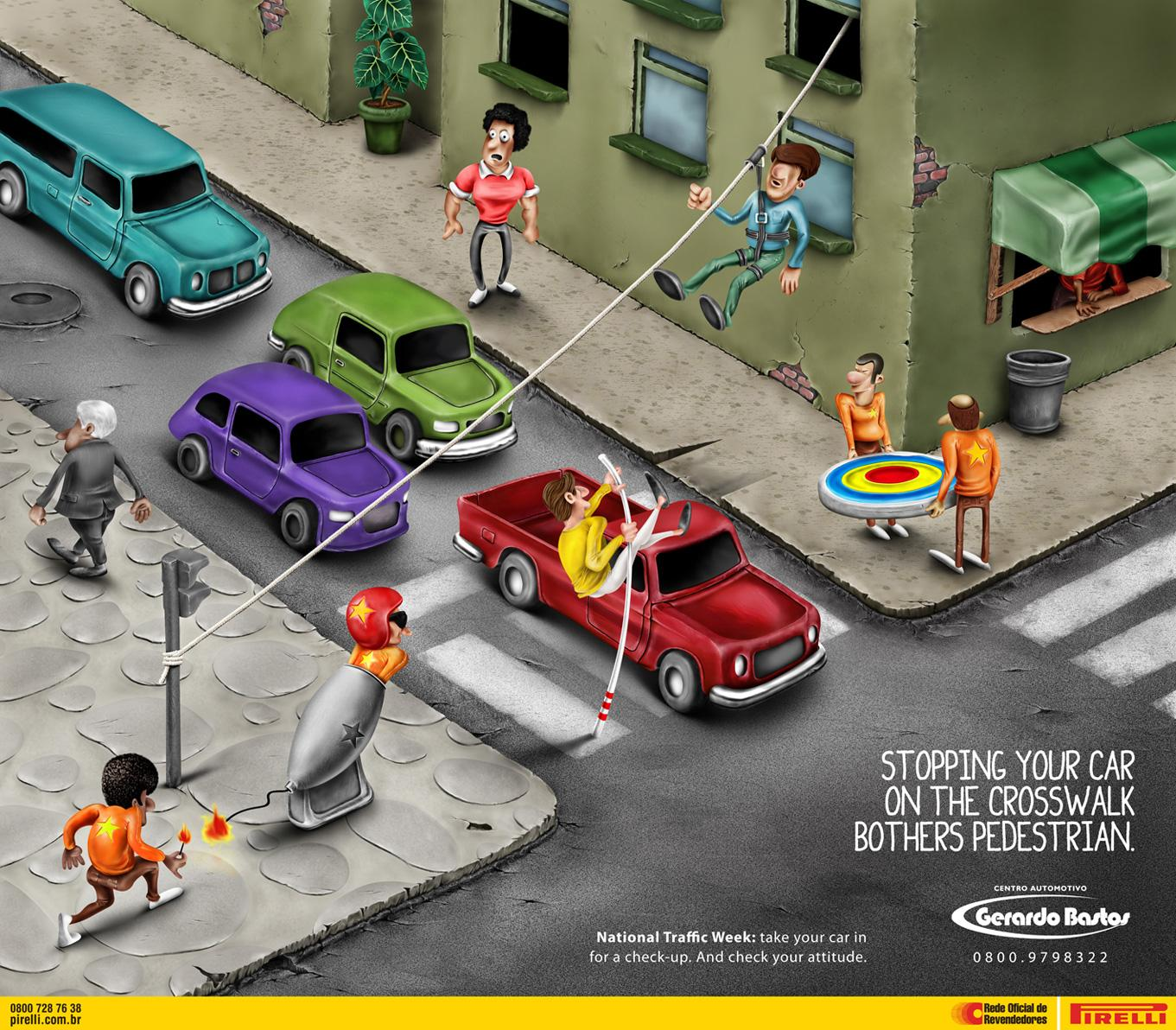 Gerardo Bastos Print Ad -  Parking