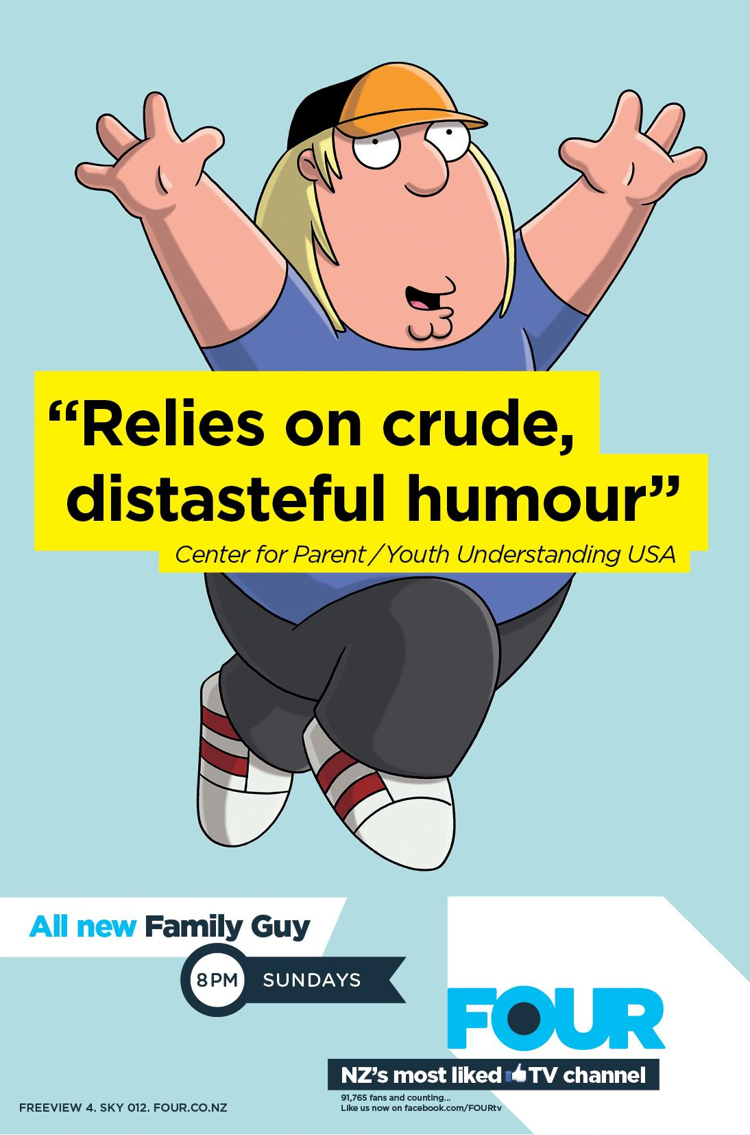 FOUR Outdoor Ad -  Parent