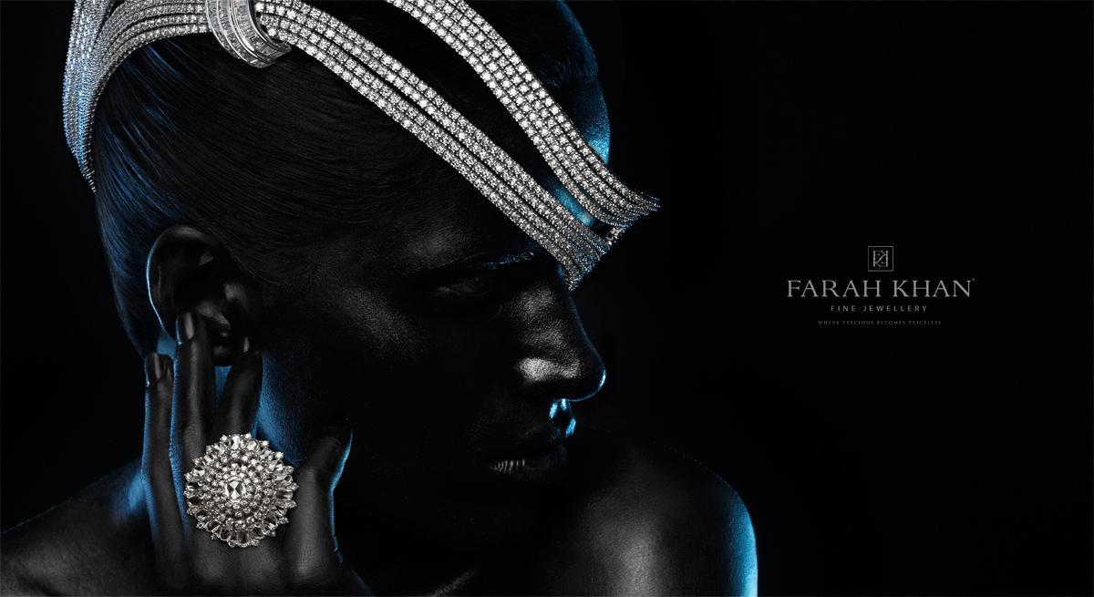 Farah Khan Print Ad -  Black, 3