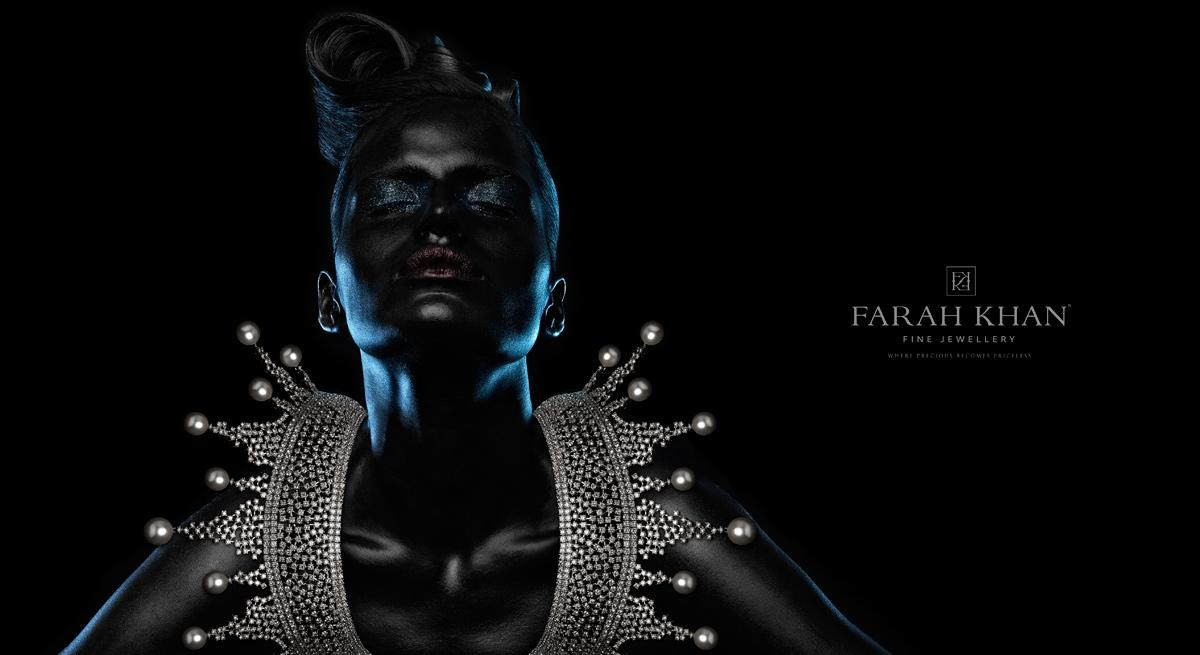 Farah Khan Print Ad -  Black, 4