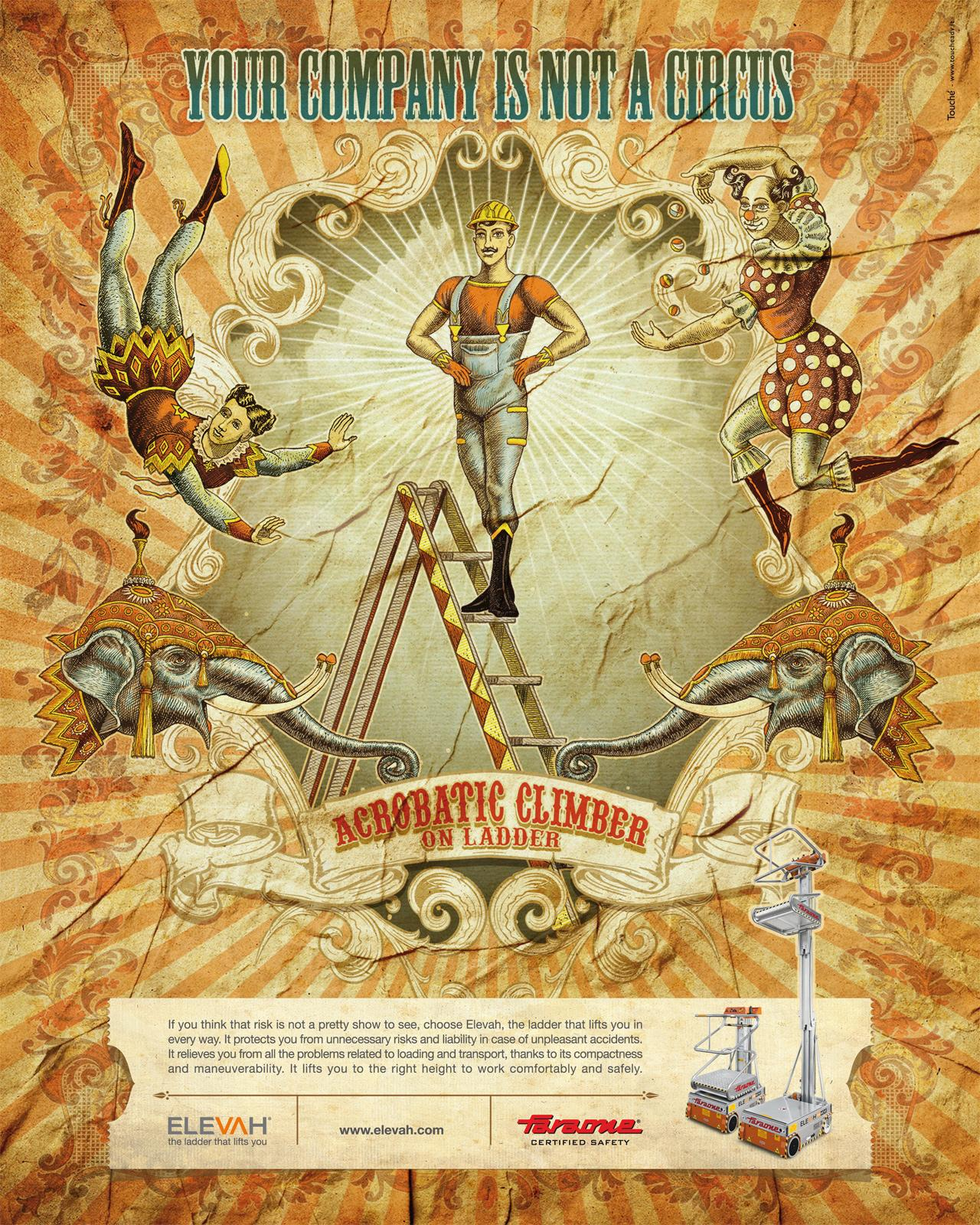 Faraone Print Ad -  Circus