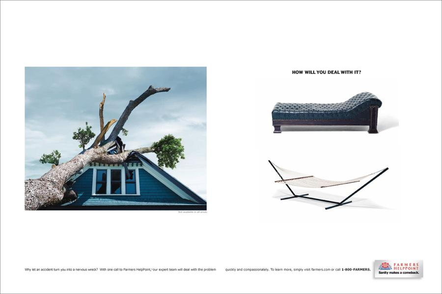 Farmers HelpPoint Print Ad -  Roof