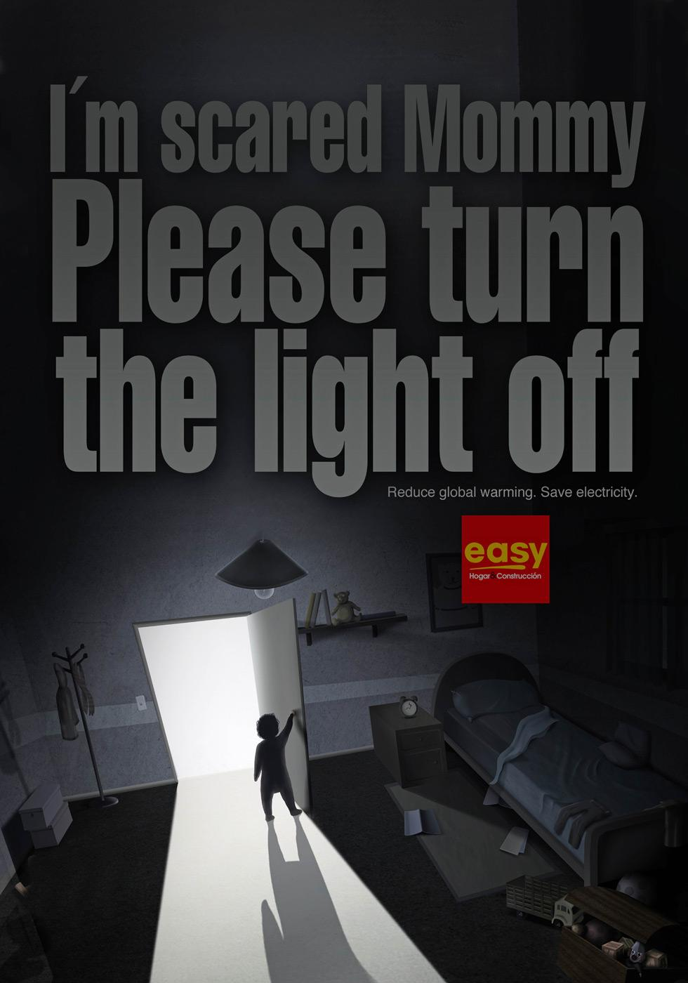 Easy Print Ad -  Fear of dark