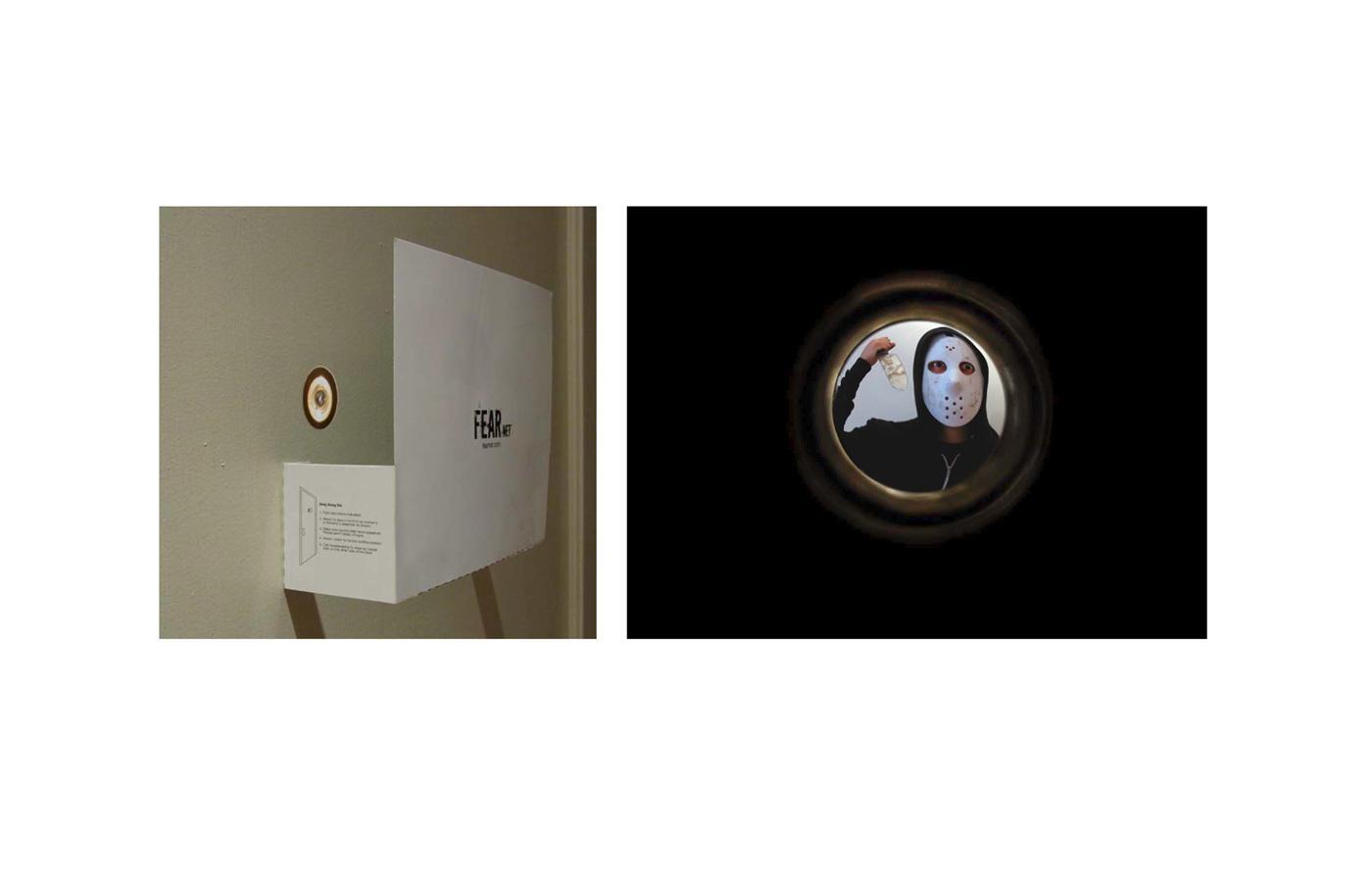 FearNet Ambient Ad -  Peephole