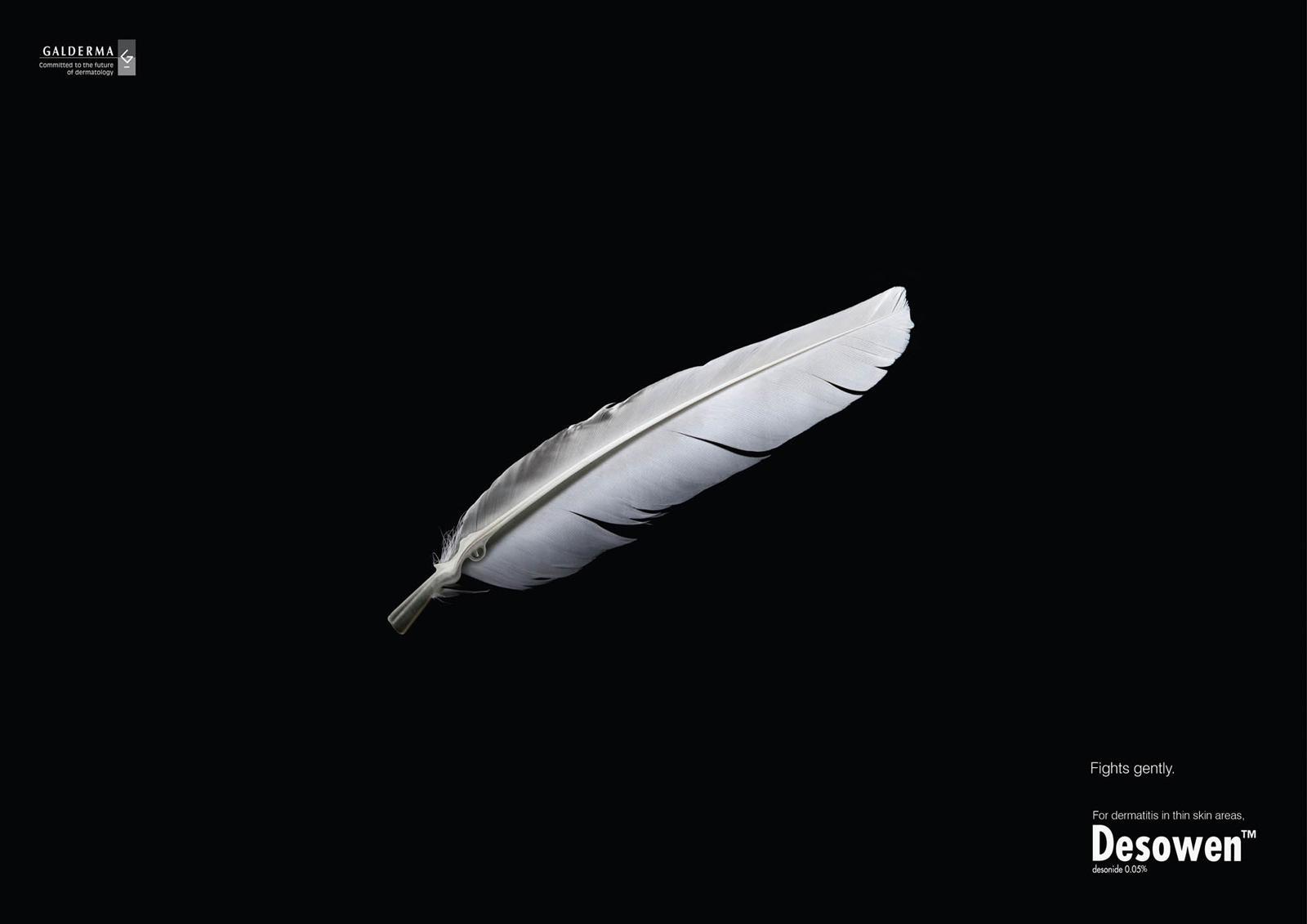 Desowen Print Ad -  Feather, 1