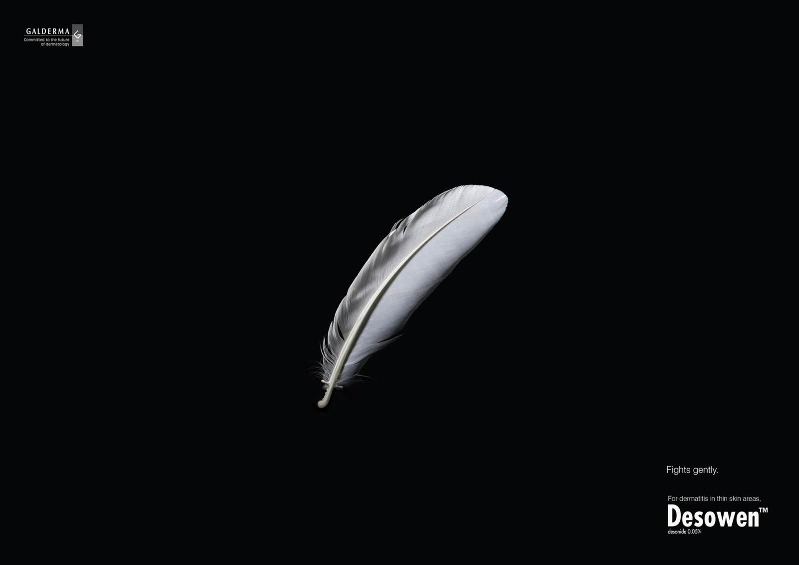Desowen Print Ad -  Feather, 2