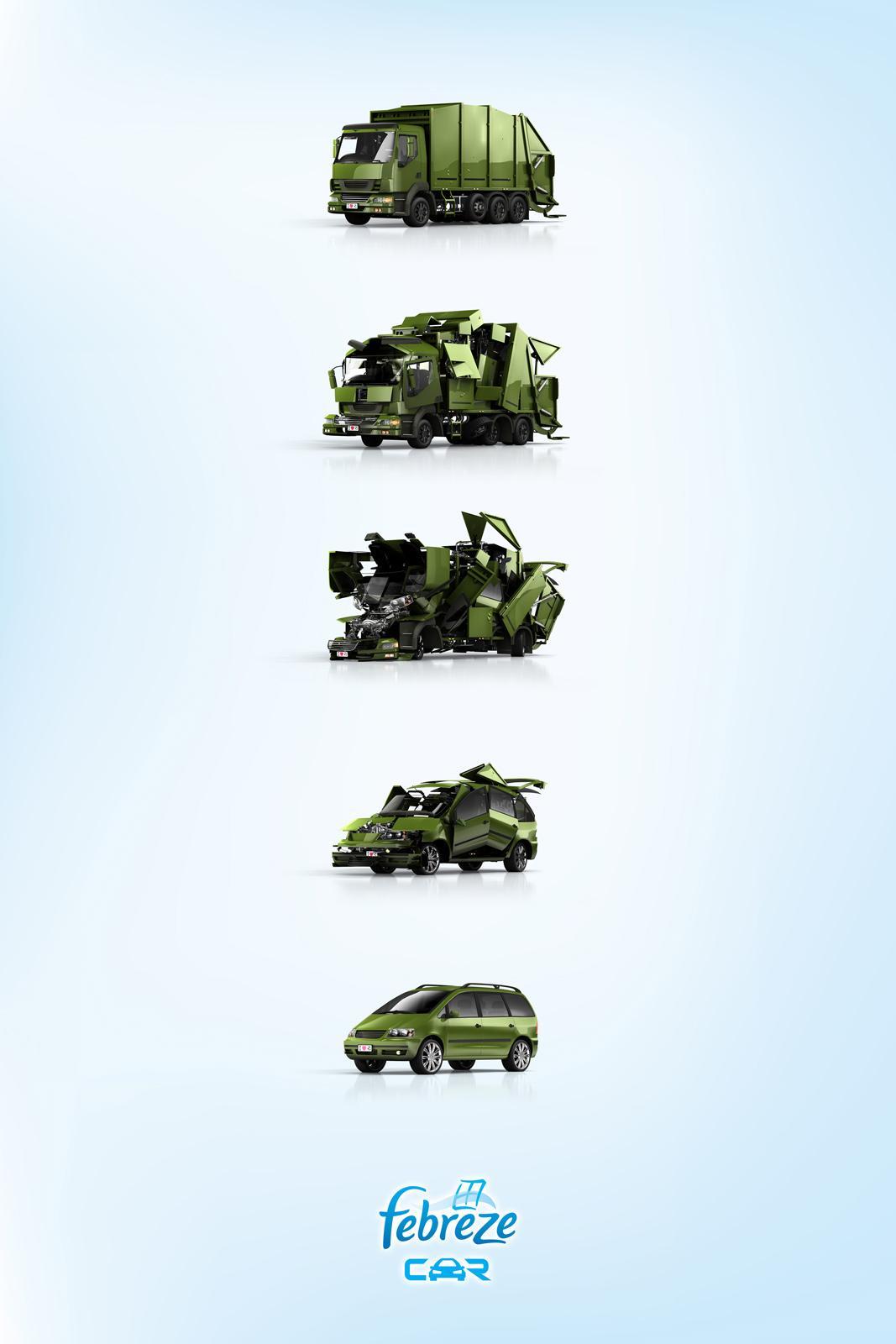 Febreze Print Ad -  Truck