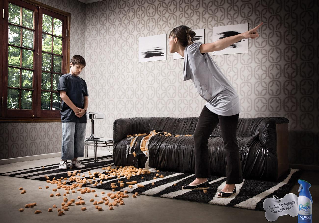 Febreze Print Ad -  Sofa