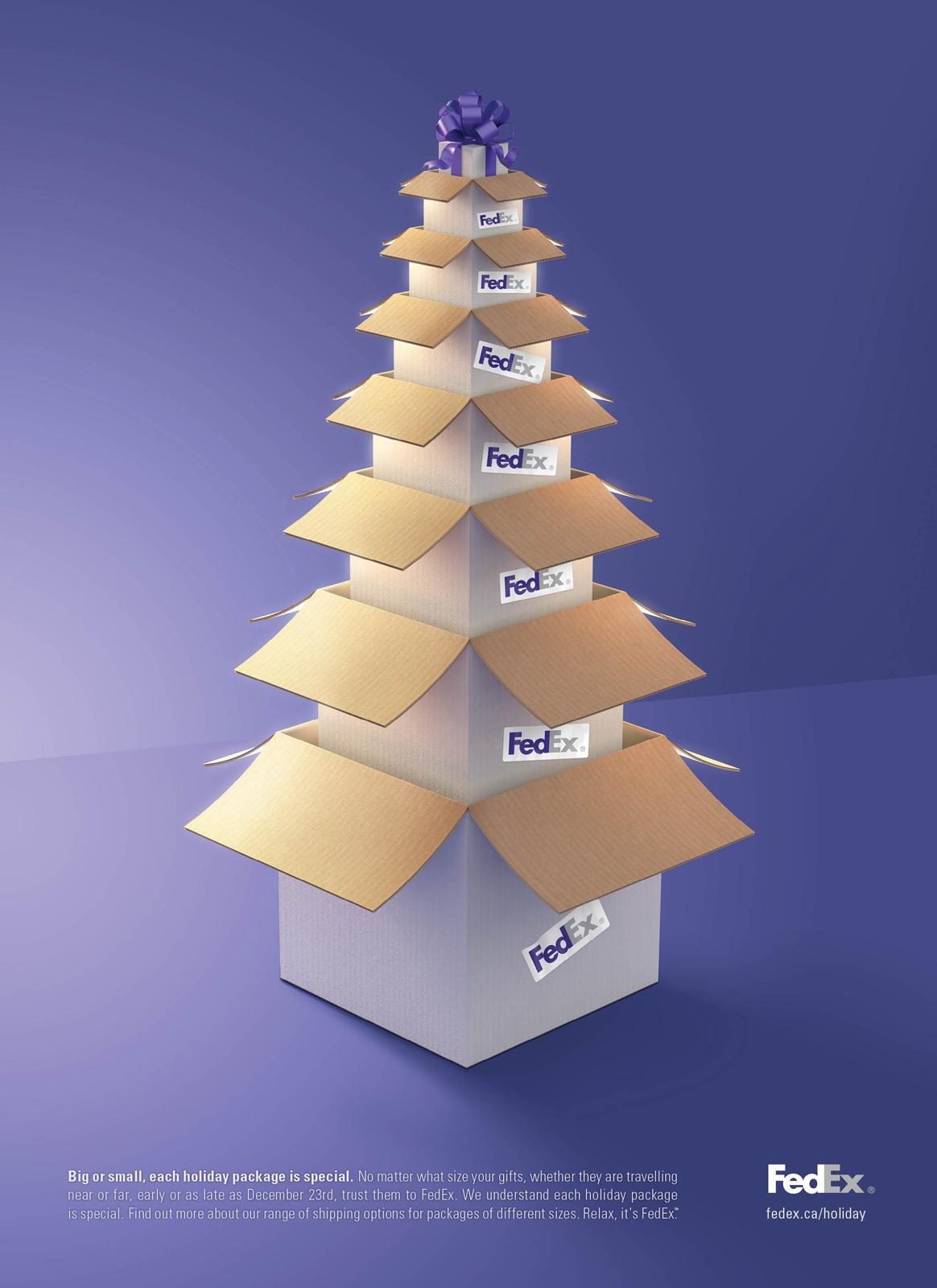 FedEx Print Ad -  Holiday