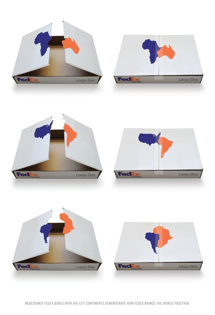 FedEx Direct Ad -  Puzzle Boxes