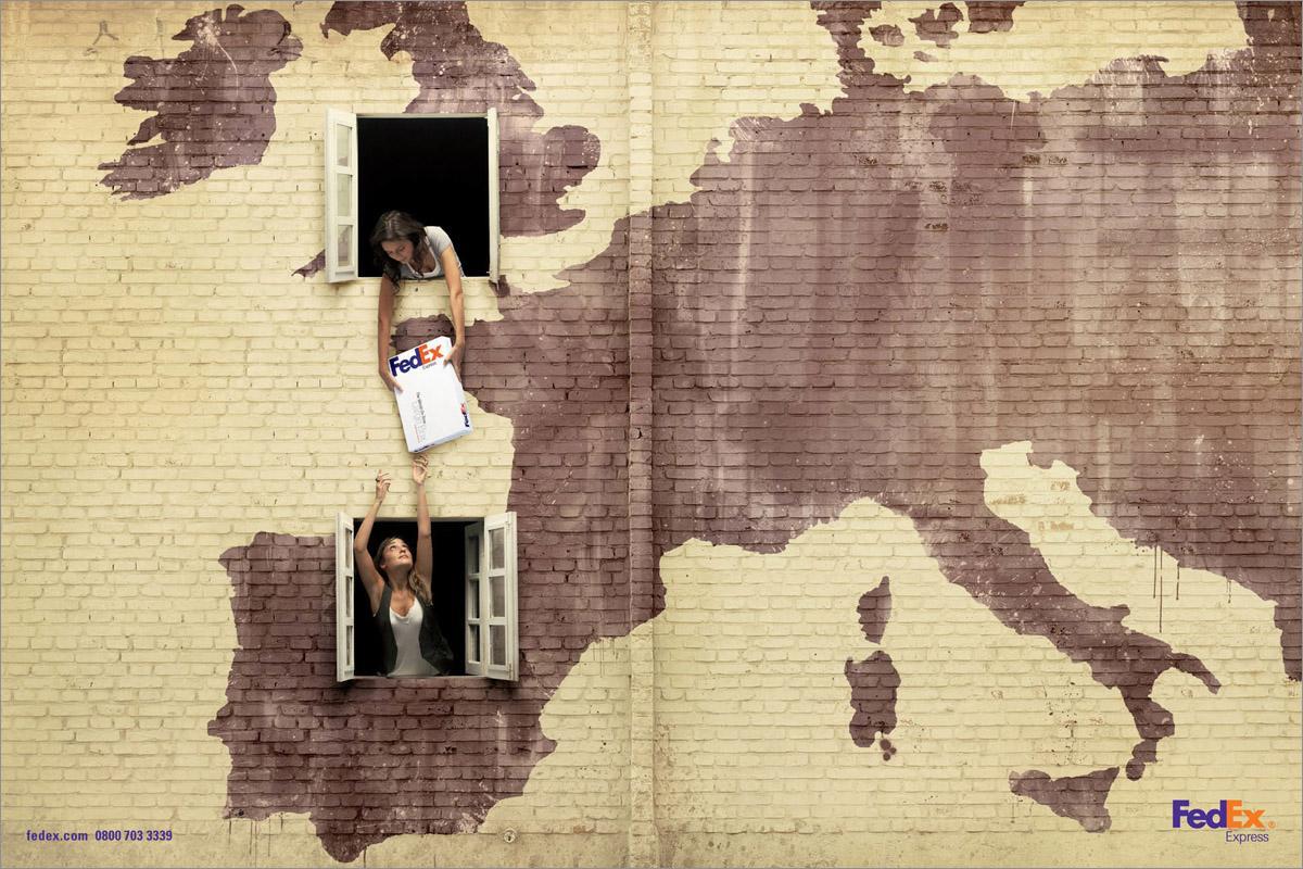 FedEx Print Ad -  London-Spain