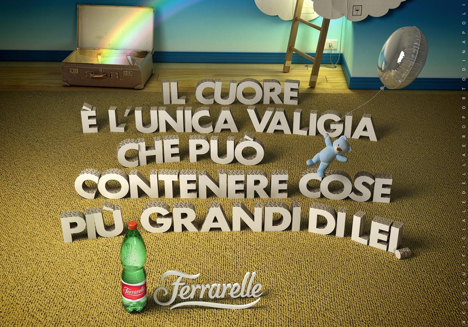 Ferrarelle Print Ad -  Naples Airport, 3