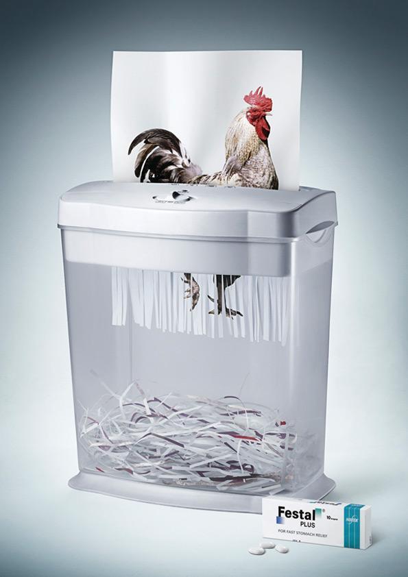 Festal Print Ad -  Chicken