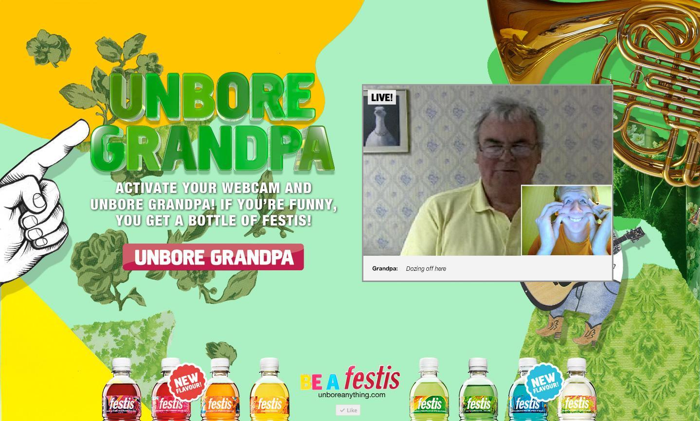 Carlsberg Digital Ad -  Unbore Grandpa
