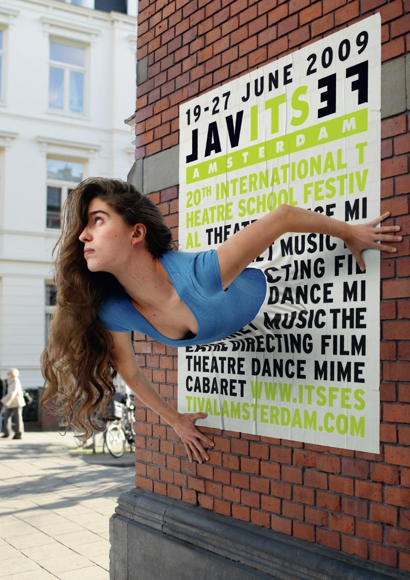 International Theatre School Festival Print Ad -  Poster, 3