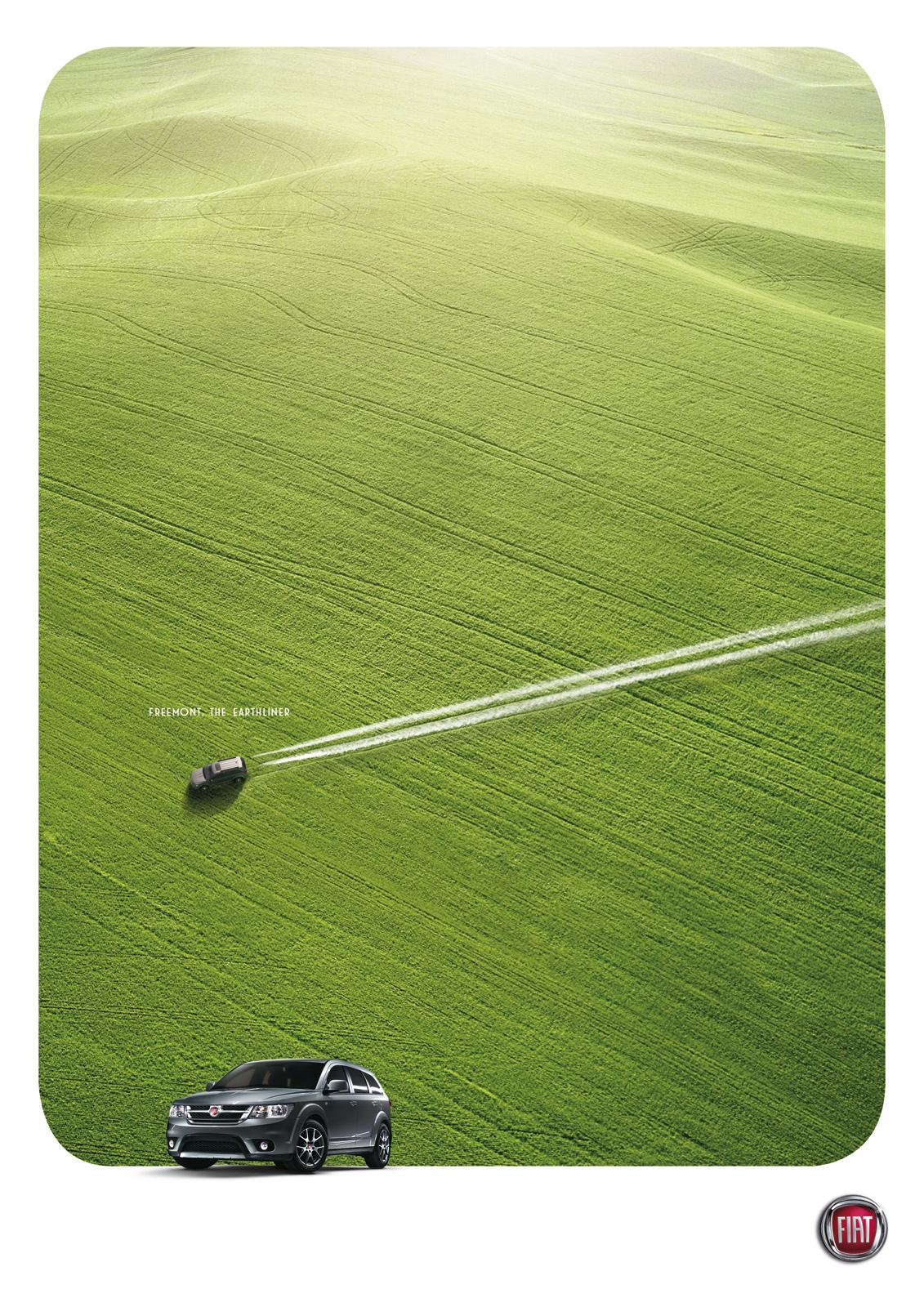 Fiat Print Ad -  The earthliner, 2