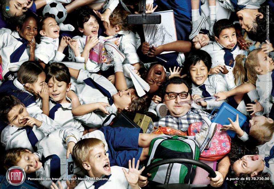 Fiat Print Ad -  Kids