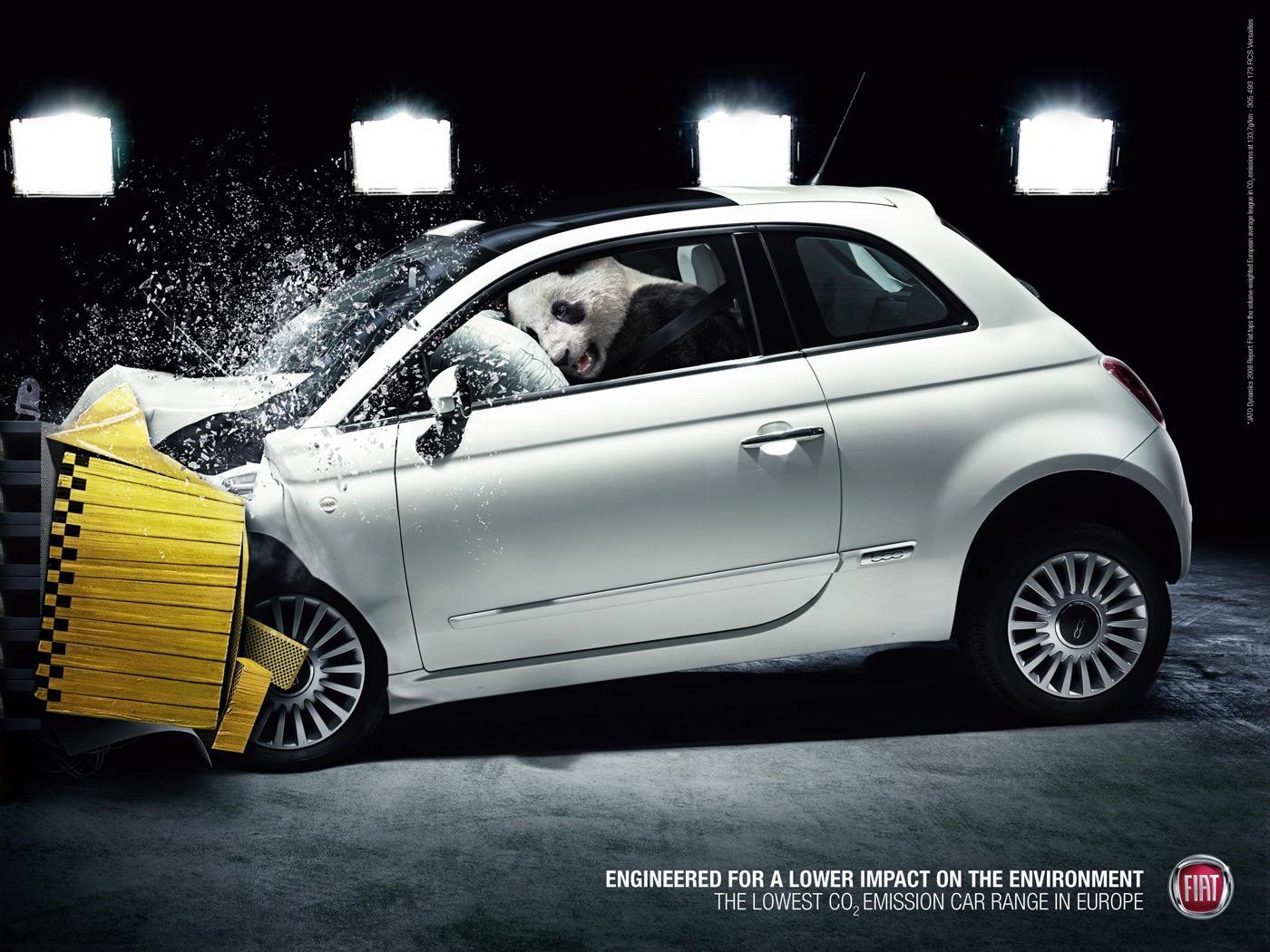 Fiat Outdoor Ad -  Panda