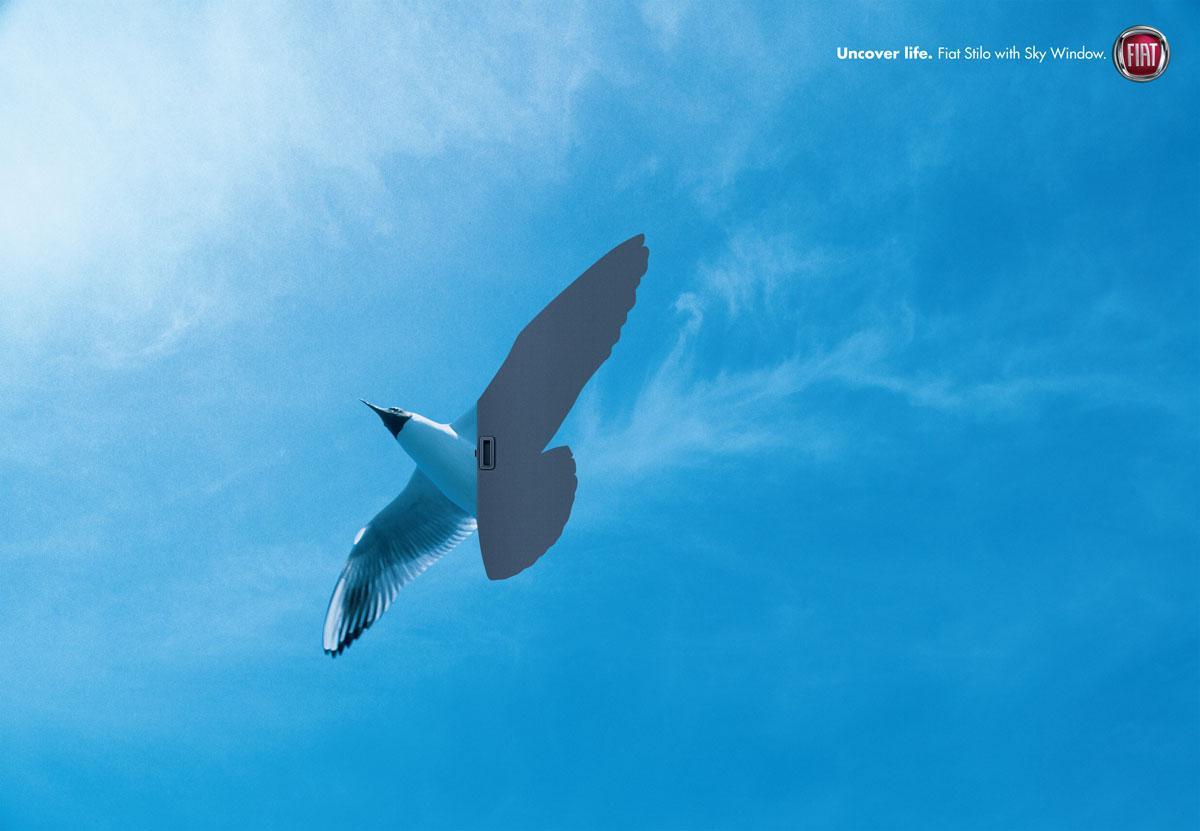 Fiat Print Ad -  Sky, 2
